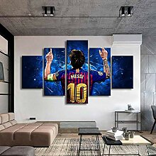 axqisq Barcelona Poster Berühmte Fußballstars 5