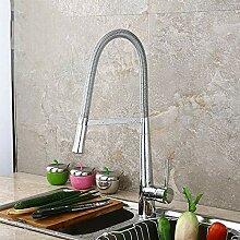 AXWT Bronze Warmes und kaltes Waschbecken