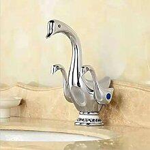 AXWT Europäischen Stil Becken Wasserhähne Gold