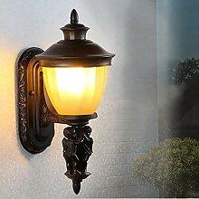 AXWT Harz-Wandlampe Angel Baby Glaswasc