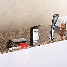 AXWT Moderne Badezimmer Badewanne Taps Band-Dusche