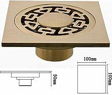 AXWT Quadratischer Badezimmer-Bodenablauf [Dual