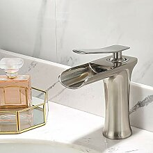 AXWT Waschtischarmatur Wasserhahn Waschbecken