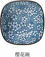 Axyf Teller Geschirr Keramik Blumensauce Keramik