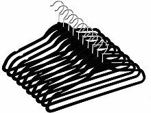 AYANJIA Samt-Kleiderbügel Anzugbügel mit