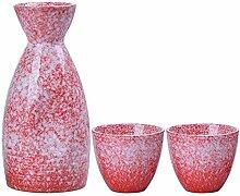 AYHa Japanese Sake Cup Set 3 Stück Porzellan
