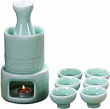 AYHa Japanese Sake Cup Set 6 Stück Porzellan