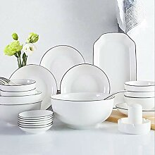 AYHa Keramik Geschirr Set, chinesischer Service