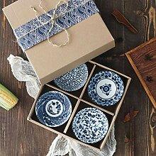 AYHa Keramikschale Bone China Besteck Jingdezhen
