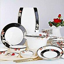 AYHa Porzellan Geschirr Service für mehrere