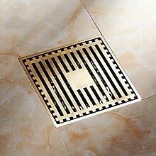 Ayhuir 10 Cm Quadratische Boden Abfluss Ablauf