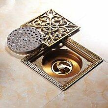 Ayhuir Antike Messing Badezimmer Rund Geformte