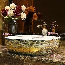 Ayhuir China Keramikmalerei Kunst Badezimmer