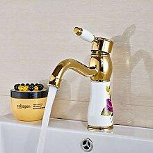 Ayhuir Deck Montiert Einhebel Kreative Waschbecken