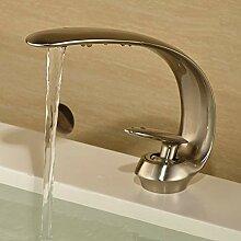 Ayhuir Einlochmontage Wasserhahn Bad Becken
