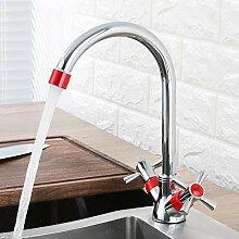 Ayhuir Küchenarmatur Red Water Sink Mixer