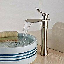 Ayhuir Luxus Runde Wasserfall Waschbecken