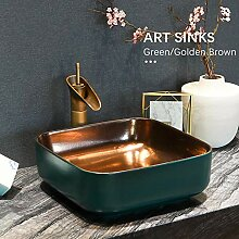 Ayhuir Waschbecken Moderne Kunst Keramik Schiff