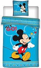 Aymax Bettwäsche Set Disney Mickey Mouse