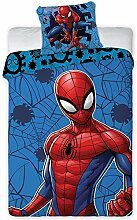 Aymax Marvel Spiderman Bettwäsche-Set Bettbezug