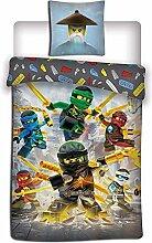 Aymax Ninjago Kinderbettwäsche Bettwäsche