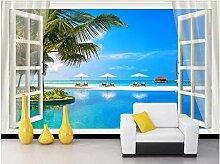 Aymsm Benutzerdefinierte 3D-Wandbild Tapete Home
