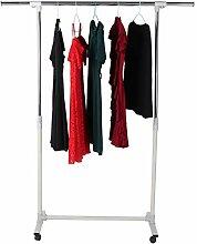 AYNEFY Kleiderständer auf Rollen,Kleiderständer