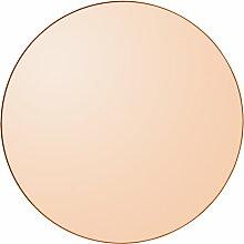 AYTM - Circum Wandspiegel small, Ø 70 cm, amber