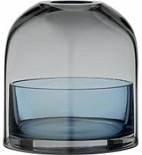 AYTM - Tota Teelichthalter, schwarz / navy
