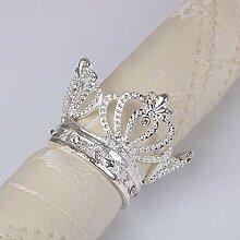 AYUE® 4PX Gold-Serviettenringe für Heim Hochzeit