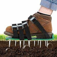 AYUSHOP Rasenbelüftungsschuhe Rasenlüfter Schuhe