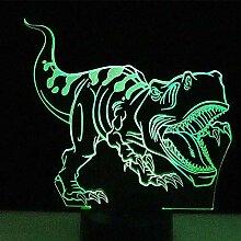 AYWJ 3D LED-Nachtlichter Tyrannosaurus Rex