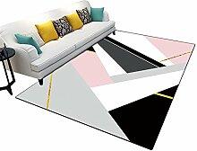 AYY carpet CSQ Rug, Bright Pink Haushalt Haushalt