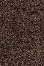 Ayyildiz Dream SHAGGY Teppich 4000 braun 80 X 150