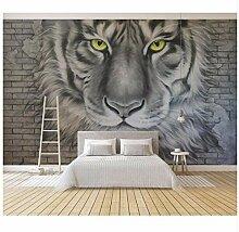 Ayzr Benutzerdefinierte Tapeten Wohnkultur Tiger