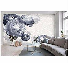 Ayzr Moderne Blumen 3D Tapete Für Wände
