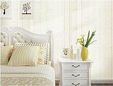 Ayzr Moderne, Einfache Selbstklebend Vlies Tapete Zimmer Zimmer Zimmer Tapete Wand Tapeten, Weiß