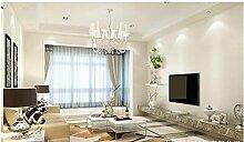 Ayzr Pvc-Tapete Wohnzimmer Tapeten, Weiß
