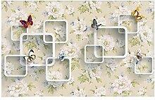 Ayzr Tapete Für Wände 3 D Anpassen Schmetterling