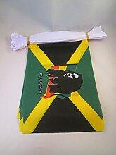 AZ FLAG FAHNENKETTE BOB Marley 6 Meter mit 20