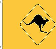 AZ FLAG Flagge AUSTRALIEN Kangaroo Sign 150x90cm -
