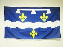 AZ FLAG Flagge DÉPARTEMENT LOIRET 150x90cm -