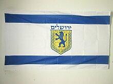 AZ FLAG Flagge Jerusalem 150x90cm - Jerusalem