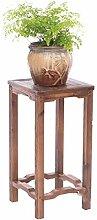 AZHom Holz Blumenständer - Pflanze Display Stand
