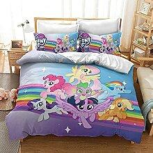 AZJMPKS My Little Pony Bettwaren-Sets,Kinder