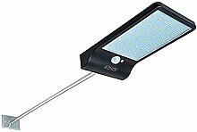 Aznoi 36LED IP65 wasserdichte solar Außenleuchte, 4W Sicherheit Kabellos Solarleuchte mit Bewegungsmelder für außen Garten, Straße, Tür, Gehweg und Zaun usw.