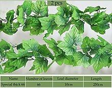 Azoraten Künstliche Kunstpflanze Pflanze Girlande