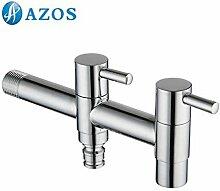 azos Utility Mop Transportboxen möglich Waschen machion Wasserhahn Single kalt Wand Outdoor Garten Waschbecken Wasserhahn pjtb013–2