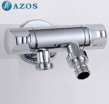 azos Waschmaschine Transportboxen möglich Single Kalten chrom Messing Wand Wasserhahn GARTEN Wasserhahn Waschbecken Wasserhahn pjxy008