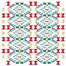 Azteken Muster Schablone-wiederverwendbar
